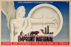 Emprunt National Jean Carlu Art Deco
