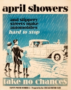 April Showers Safety Poster
