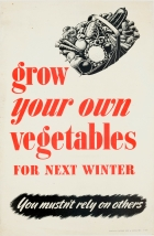 Grow Your Own Vegetables WWII