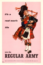 Join The Regular Army - Scottish Piper
