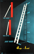 4 Up 1 Out ROSPA Ladder Safety