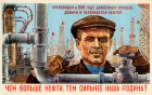 Oil Power Strength Russia USSR
