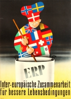 ERP Marshall Plan Inter-European Cooperation