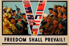Freedom Shall Prevail WWII UK Allied Armies