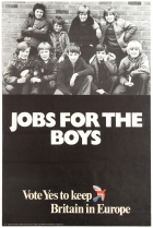 European Union Referendum 1975 Jobs For The Boys Europe Brexit