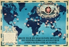 British Empire Trade Map WWII