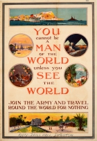 Army Recruitment WWI See The World Travel