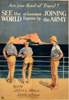 Army Travel Military Recruitment WWI Rock Of Gibraltar