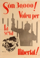 Spanish Civil War Freedom Vote Catalonia 1936