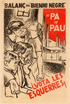 Spanish Civil War Vote Left Catalonia