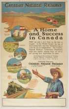 Canadian National Railways A Home And Success In Canada Colonization Immigration