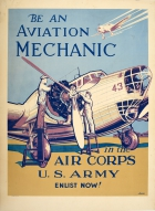 Aviation Mechanic WWII US Army Air Corps