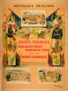 French Colonial Troops Indochina Africa Troupes Coloniales