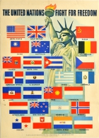 United Nations Fight For Freedom WWII