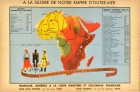 French Empire Africa Art Deco WWII
