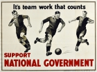 Support National Government Football Team Work