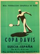 1961 Davis Cup, Sweden - Spain