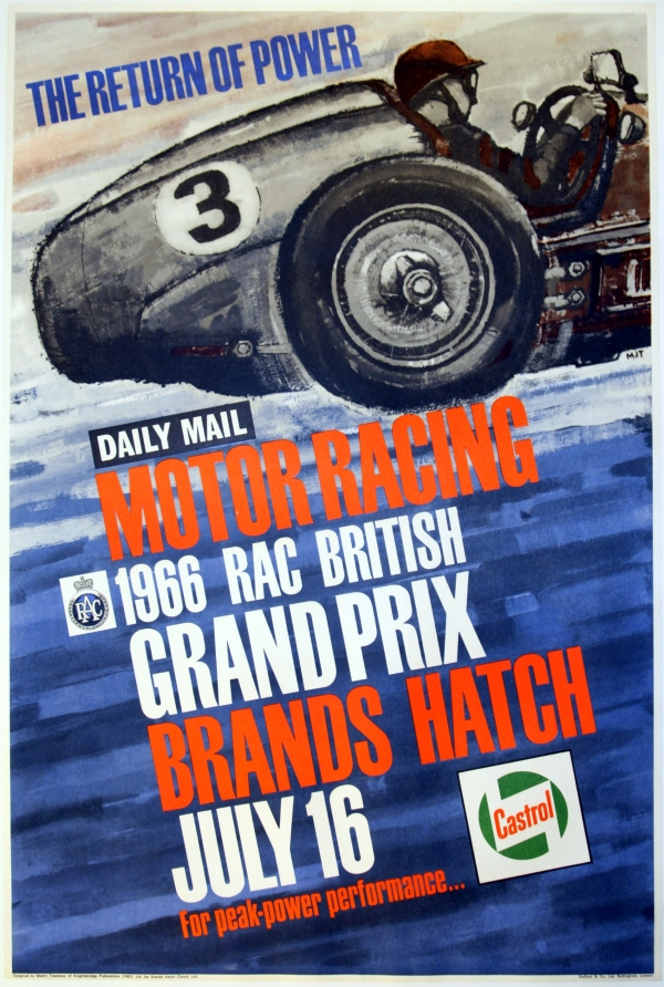 1966 RAC British Grand Prix Brands Hatch