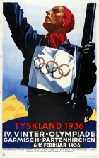 Winter Olympic Games 1936 Germany Hohlwein