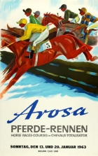 Arosa Horse Races Switzerland