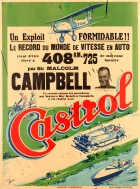 Castrol Speed Records Sir Malcolm Campbell