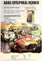 ADAC Eifelpokal Nurburgring 1963 Car Racing