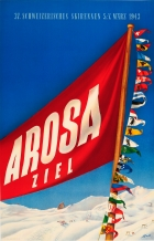 Arosa 1943 Swiss Ski Races Switzerland