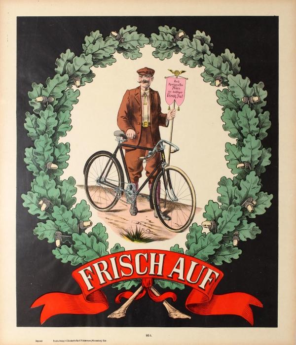 Original Vintage Posters -> Sport Posters -> Frisch Auf