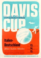 Davis Cup Tennis 1951 Italy Germany