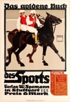 Golden Book of Sports Horse Polo Ludwig Hohlwein