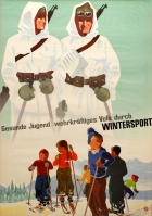 Healthy Youth Resilient People Winter Sport Ski Hans Thoni