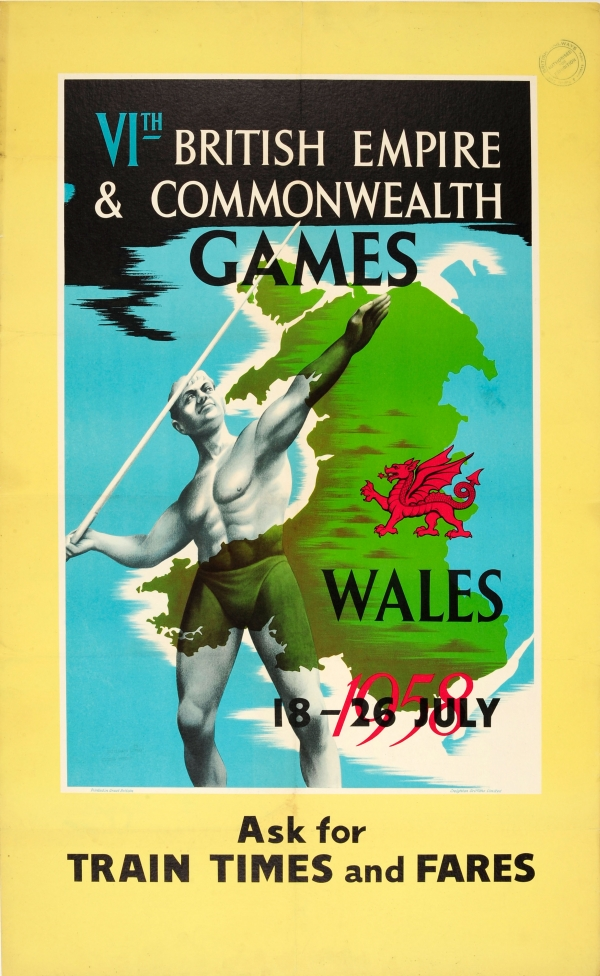 1958 British Empire Commonwealth Games Wales