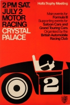 Crystal Palace Motor Racing Holts Trophy Meeting BARC