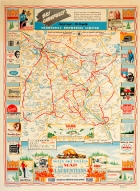 Laurentians Canada Quebec Ski Trails Map