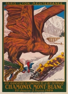 Winter Olympic Games 1924 Chamonix Mont Blanc PLM Auguste Matisse
