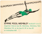 LT London Underground European Swimming Championships 1938 Wembley