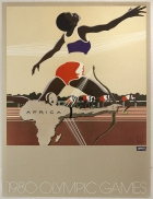 Levi's Moscow 1980 Olympic Games Africa Athletics Track Archery