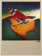Levi's Moscow 1980 Olympic Games North America Slalom Ski Jumping