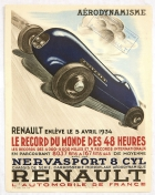 Renault Aerodynamisme 48 Hours World Record Art Deco
