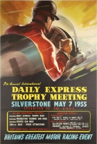 Daily Express Trophy Meeting Silverstone 1955 Formula One Motor Race