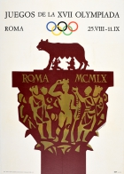 Rome Olympic Games 1960 Olympics