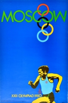 Moscow Olympics 1980 Runner