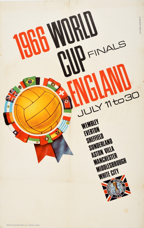 1966 World Cup Finals England Football