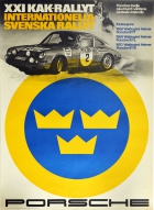 Porsche 911 Swedish Rally Waldegard Helmer