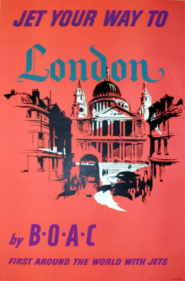 Original Vintage Posters -> Travel Posters -> London by ...