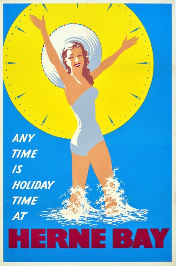 Original Vintage Posters Gt Travel Posters Gt Herne Bay
