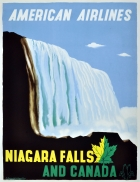 Niagara Falls and Canada, American Airlines