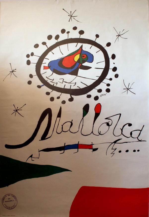 Original Vintage Posters > Travel Posters > Mallorca  -> Vintage Möbel Palma De Mallorca
