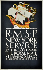 New York by Royal Mail Steam Packet Co