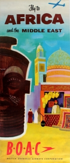 Africa and Middle East by BOAC